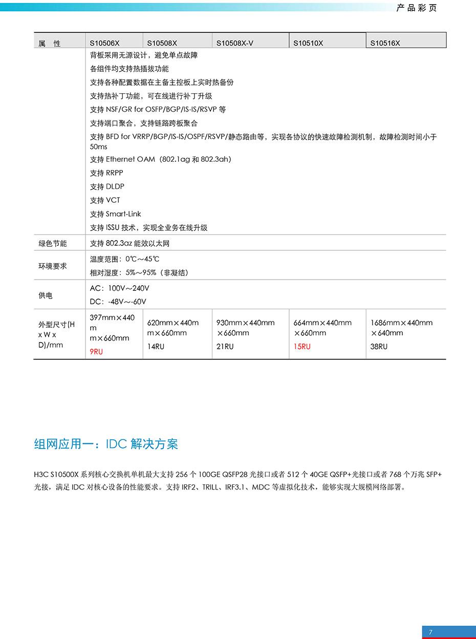 S10500X系列以太网核心交换机官网彩页-7